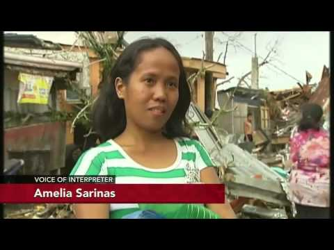 Doctors face supply shortage as aid reach typhoon survivors