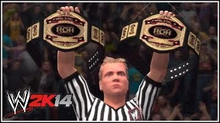"WWE 2K14 ROH Tag Team Championship On ""WWE 2K14"" (Create"