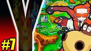 Pokémon Y Parte 7: Sweet Scent, Team Flare, Fóssil E
