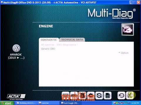 INstalling for 2013-II Multi-Di@g Access J2534 Pass-Thru OBD2 Device