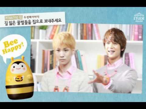 SHINee ETUDE HOUSE - Promotional clip