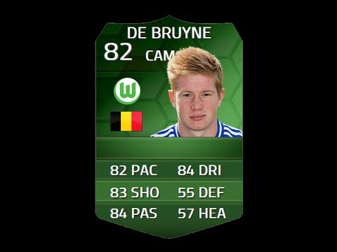 FIFA 14 iMOTM DE BRUYNE 82 Player Review & In Game Stats Ultimate Team