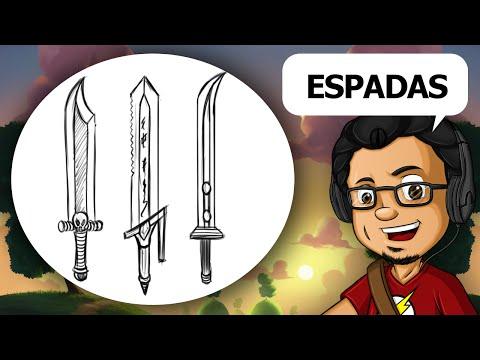 Como Desenhar Espadas #01