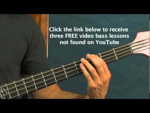 easy bass guitar lesson 5 rock songs for beginners iron man led zeppelin green day  sabbath