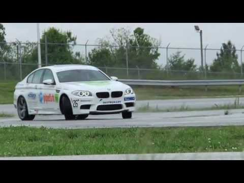 BMW M5 World Record for Longest Drift
