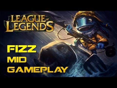 RANKED FIZZ MID LANE (Live Commentary)