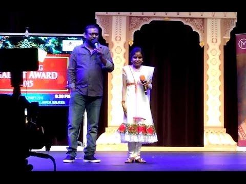 Lajjavathiye - Live perfmroance by Jassie Gift and Vaikom Vijayalakshmi