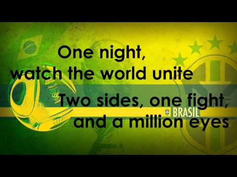 We Are One - Pitbull ft. Jennifer Lopez, Cláudia Leitte (World Cup Song 2014) Lyric Video