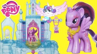 My Little Pony Crystal Castle Palace with Princess Twilight