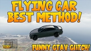 """GTA 5 ONLINE"" NEW ""CAR FLYING"" FUNNY GLITCH SWINGSET"