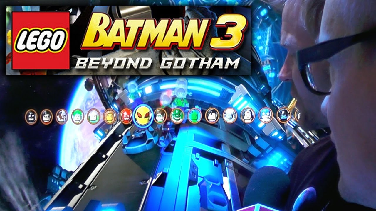 lego batman 3 games to play