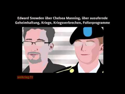 Snowden: Geheimhaltung, Kriege, Kriegsverbrechen, Folter - Chelsea Manning/Sam Adams Award