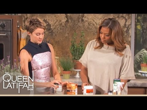 Shailene Woodley's DIY Health and Beauty Products on The Queen Latifah Show