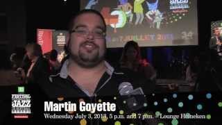 Martin Goyette – 2013 Festival – Upcoming Concert