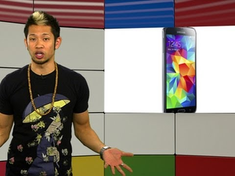 "Googlicious - Samsung's Galaxy S5 has the ""best smartphone display ever""."