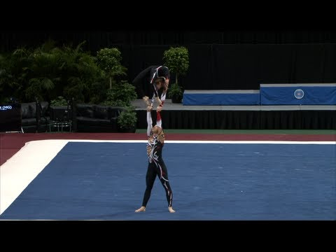 WC Orlando (USA) 2012 -- Ukraine, Women's Pair