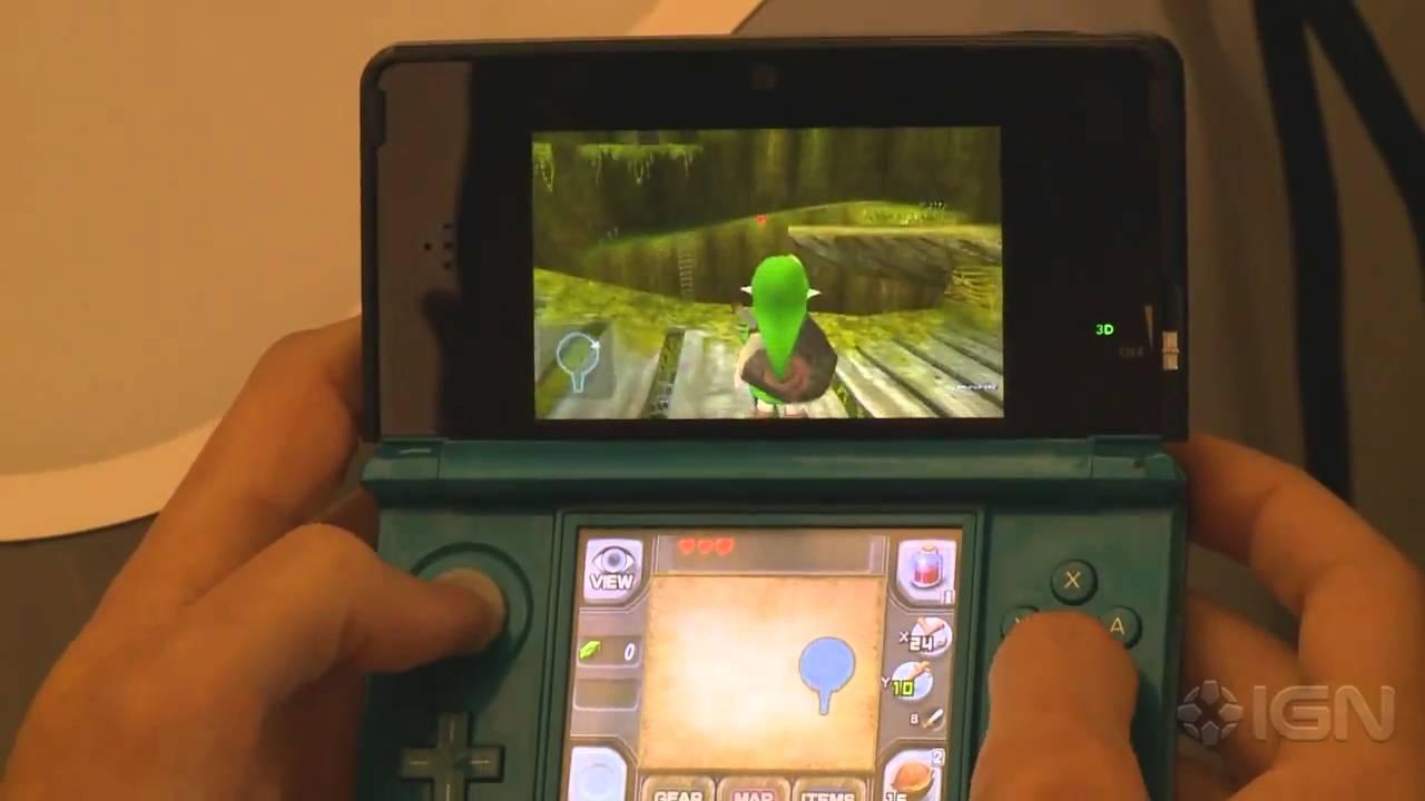 maxresdefault jpgZelda Ocarina Of Time 3ds Gameplay