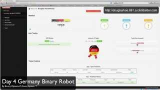 Day 4 Germany Binary Robot Review 30 04 2014. 2e Trade Of