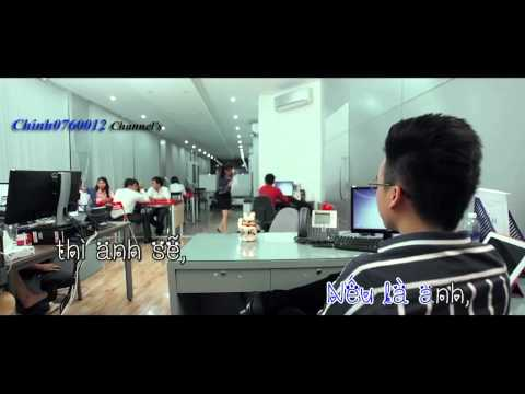 [karaoke] Nếu là anh - The Men [Offical beat][720p@60]