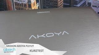 Test: Medion Akoya P2212T (MD99288) Aldi Tablet Mit