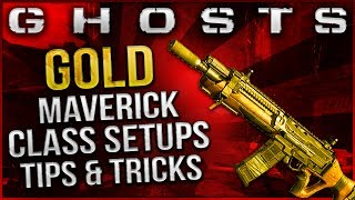 "Call Of Duty:Ghosts ""GOLD MAVERICK!"" Best Class Setup"