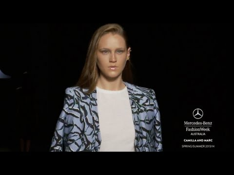 CAMILLA AND MARC - MERCEDES-BENZ FASHION WEEK AUSTRALIA SPRING SUMMER 2013/2014 COLLECTIONS