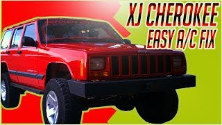 2001 Jeep Cherokee XJ A/C Clutch And Shim Removal