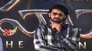 Rebel Star Prabhas Emotional Speech at Bahubali Press Meet