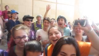 GloZell has fans in the Holy Land  - Masada- GloZell