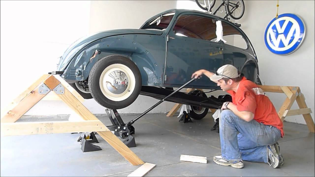 1966 Vw Beetle Body Removal One Person Remove Body