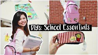[ENGSUB] BACK TO SCHOOL DIYS - TỰ LÀM DỤNG CỤ HỌC TẬP CHO NĂM HỌC MỚI 🎒🌻// BÓNG BAY