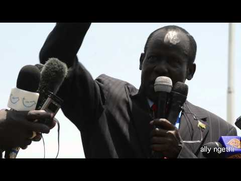 SOUTH SUDAN PROTEST MARCH 10,2014