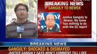 Justice Ganguly showed \'unwelcome\' sexual behaviour towards law graduate : SC panel