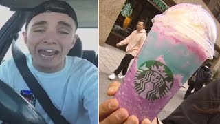Starbucks Barista Flips Out Over Creating Hyped-Up Unicorn Frappuccinos