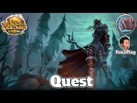 Gameplay Quest Druid Kobolds And Catacombs | Hearthstone Guide How To Play