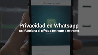 Privacidad en WhatsApp: así funciona