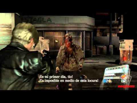 Resident evil 6 Infierno Campaña Leon Capitulo 1 Rango S (2/2)
