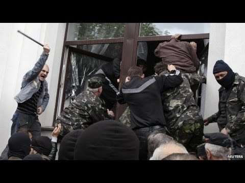 Ukraine crisis: Pro Russians seize Donetsk prosecutor's office