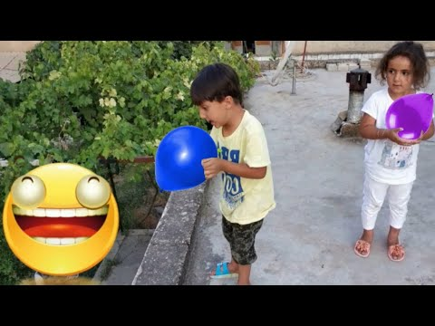 Bounce Balloons funny kids video