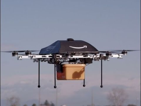 Amazon Prime Air, Delivery by Drone in 30 Minutes