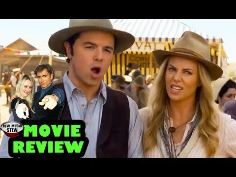 A MILLION WAYS TO DIE IN THE WEST -- Seth MacFarlane, Charlize Theron - New Media Stew Movie Review