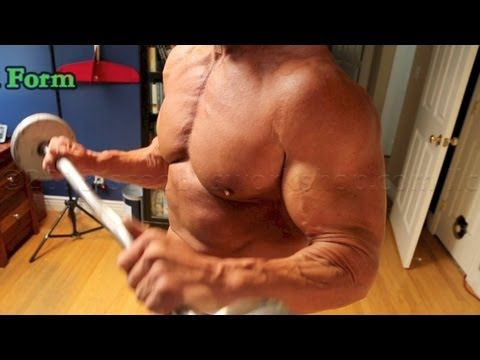 Amazing arm pump with reverse curls