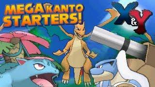 Pokémon X And Y Kanto Starters Mega Evolution Trailer
