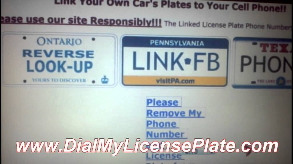 Reverse license plate search for free books