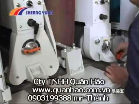 may cha nham thung cong suat Standard Wide Belt Panel Sander