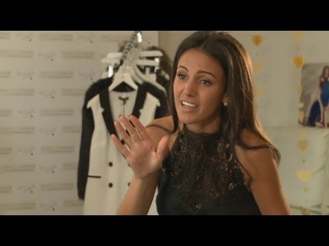 Michelle Keegan's top beauty tips for getting ready in a rush