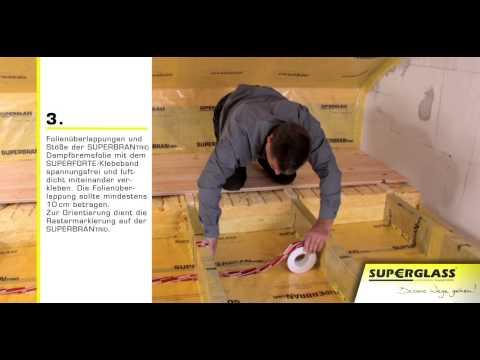 Superglass - izolacja stropu górnego