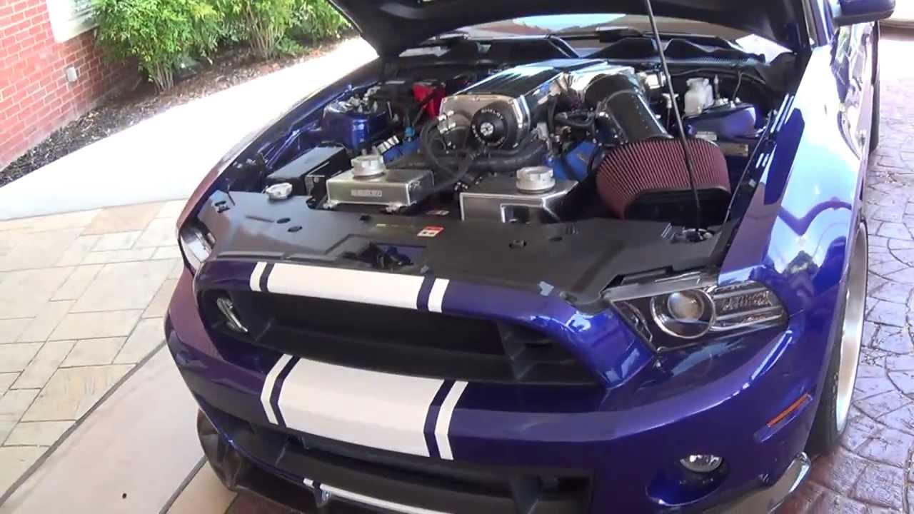 2K13 Ford Mustang Shelby Cobra GT500 Super Snake - YouTube