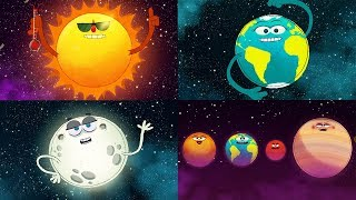 StoryBots Outer Space   Planets, Sun, Moon, Earth and Stars   Solar System Super Song   Fun Learning