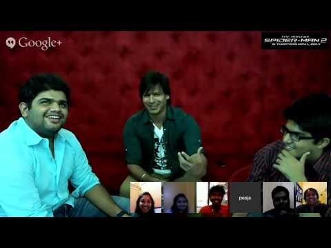 Google Hangout with Vivek Oberoi